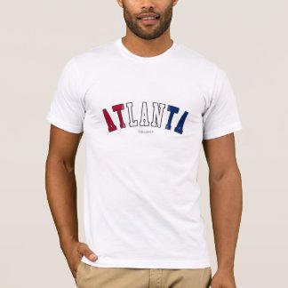 Atlanta in Georgia state flag colors T-Shirt