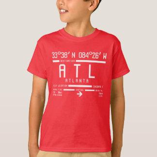 Atlanta International Airport Code T-Shirt