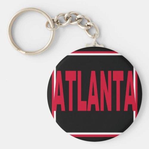 Atlanta Keychain