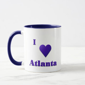 Atlanta -- Midnight Blue Mug