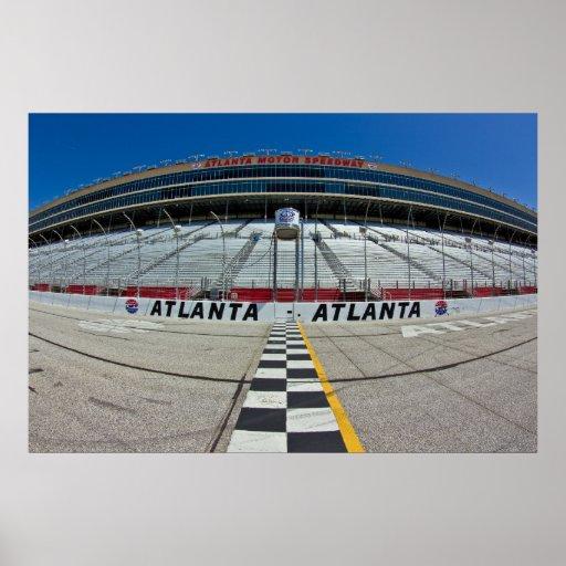 Atlanta Motor Speedway Poster Zazzle