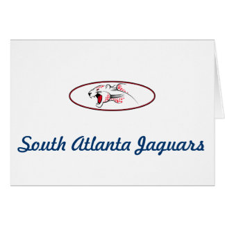 Atlanta Parks And Recreation South Atlanta Jaguars Card