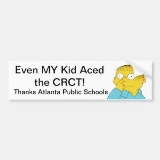 Atlanta Public Schools (Ralph) Bumper Sticker