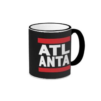 Atlanta Red Ringer Coffee Mug