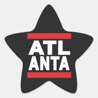 Atlanta Red Star Sticker