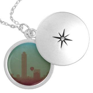 Atlanta Round Locket Necklace
