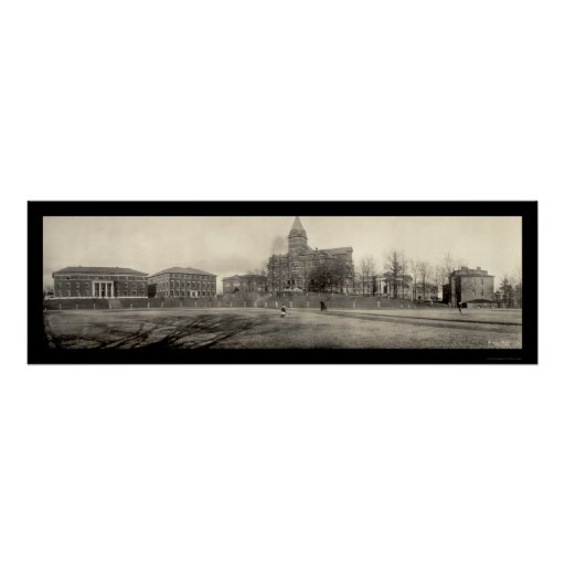 Atlanta School of Technology Photo 1909 Poster