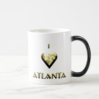 Atlanta -- Shimmering Gold Magic Mug