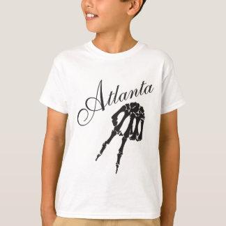 ATLANTA skull peace T-Shirt