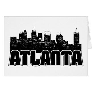 Atlanta Skyline Card
