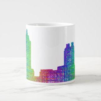 Atlanta skyline giant coffee mug