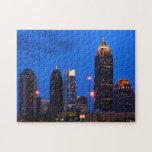 Atlanta Skyline Jigsaw Puzzles
