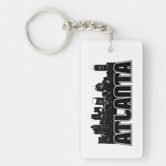Atlanta Skyline Keychain