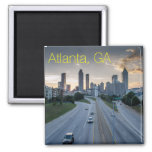 Atlanta Skyline Magnet