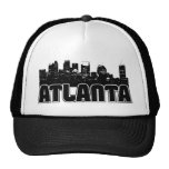 Atlanta Skyline Mesh Hats