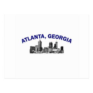 Atlanta Skyline Post Card