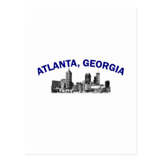 Atlanta Skyline Postcards