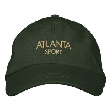 USA Themed ATLANTA Sport Hat
