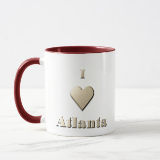 Atlanta -- Steel Tan Mug
