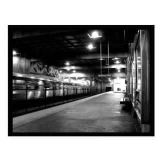 Atlanta Subway Station Postcard