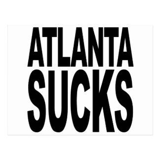 Atlanta Sucks Postcard