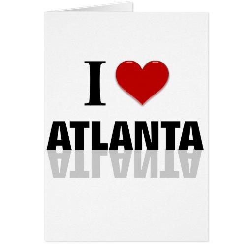 Atlanta Tarjeta De Felicitación