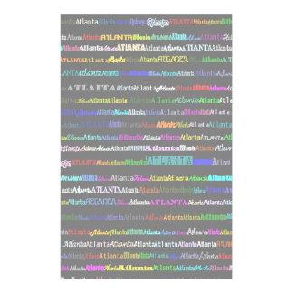 Atlanta Text Design I Stationery