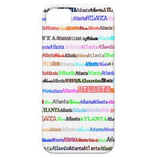 Atlanta Text Design II iPhone 5 Case-Mate Case