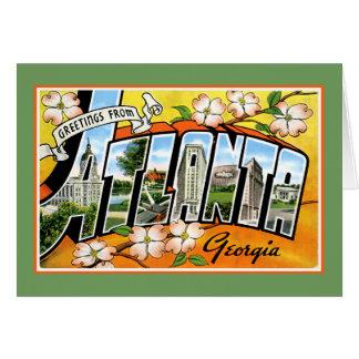 Atlanta Tourist Greetings Greeting Cards