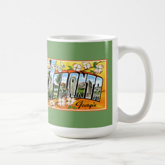 Atlanta Tourist Greetings Mug
