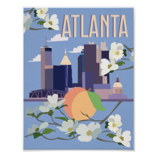 Atlanta Travel Poster