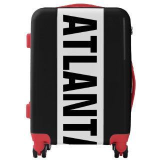 ATLANTA, Typo black Luggage