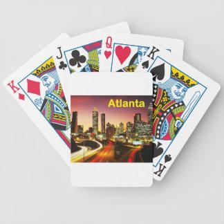 Atlanta (USA) (St.K) Bicycle Playing Cards