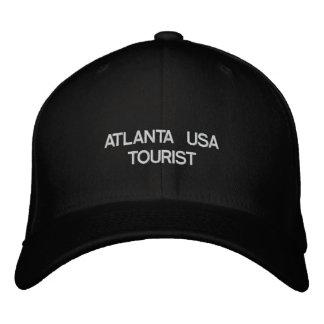 ATLANTA USA TOURIST EMBROIDERED BASEBALL HAT