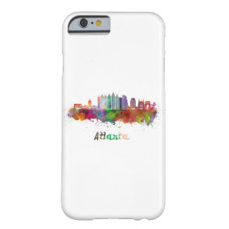 Atlanta V2 skyline in watercolor Barely There iPhone 6 Case