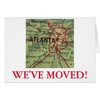 Atlanta We've Moved address announcement