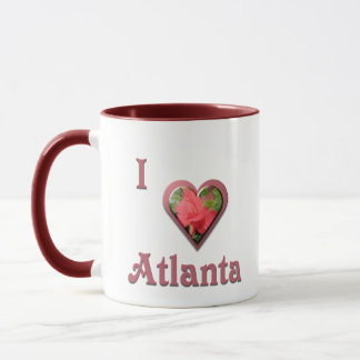 Atlanta -- with Red Rose Mug