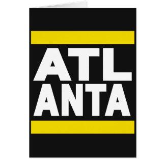 Atlanta Yellow Cards