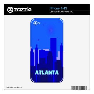 Atlanta Zazzle Skin Skins For The iPhone 4S