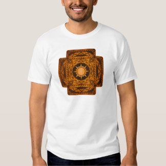 Atlantean Crafts Copper on Brown Leather T Shirt