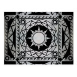 Atlantean Crafts Silver on Black Post Cards