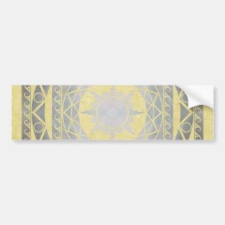 Atlantean Crafts Silver on Parchment Bumper Sticker