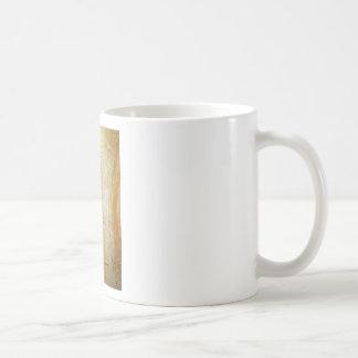 Atlantes (abstract human figure painting) coffee mug
