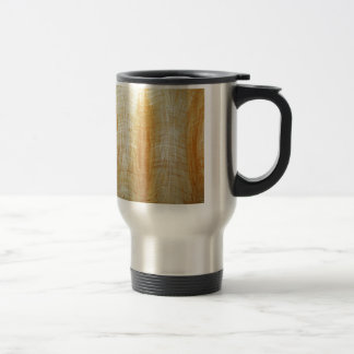 Atlantes (abstract human figure painting) travel mug