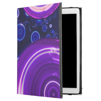 "Atlantian Abyss Black Light Fractal City of Domes iPad Pro 12.9"" Case"