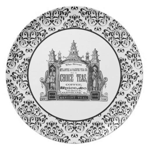 Atlantic And Pacific Dinner Plates