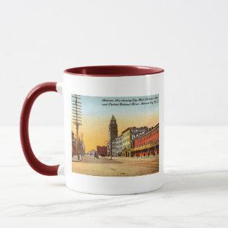 Atlantic Ave., Atlantic City 1908 Vintage Mug
