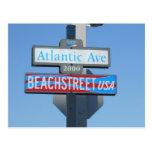 Atlantic Avenue, Virginia Beach, Virginia Post Cards