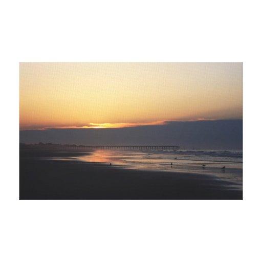 Atlantic Beach, NC Canvas Print