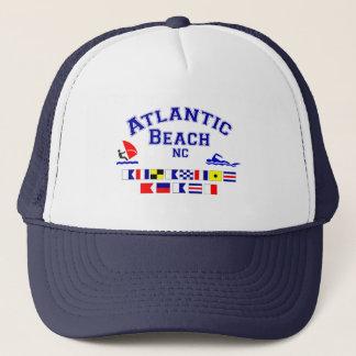 Atlantic Beach NC Signal Flag Trucker Hat